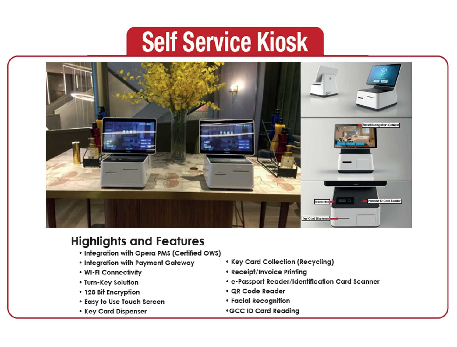 Mobile Check-In Self Service Kiosk Solutions